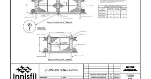 Toisd 406 Chain Link Fence Gates Pdf Google Drive