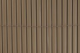 Double Sided Pvc Slat Privacy Fencing