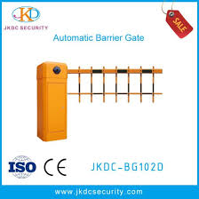 Hot Item Jkdc Bg102d Automatic Boom Arm 2 Fences Parking Traffic Barrier Gate For Parking Security System Traffic Security System Barrier
