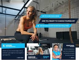 best sport fitness wordpress themes 2016