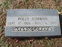 Polly Patterson Norman (1926-1992) - Find A Grave Memorial