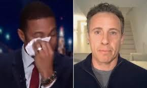 CNN anchor Don Lemon breaks down on air while talking about Chris ...