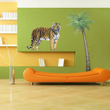 Giant Tiger Wall Sticker Create Your Own Amazing Jungle Themed Room