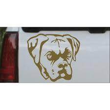 Boxer Bulldog Car Or Truck Window Decal Sticker Walmart Com Walmart Com