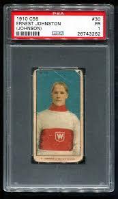 Auction Prices Realized Hockey Cards 1910 C56 Ernest Johnston (Johnson)