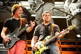 Meet Eddie Van Halen's and Valerie Bertinelli Only Son Wolfie, a Member of Van  Halen Band