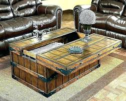 large rustic coffee table industrial on