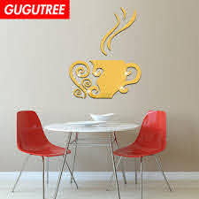 Decorate Home 3d Tea Cartoon Mirror Art Wall Sticker Decoration Decals Mural Painting Removable Decor Wallpaper G 407 Sticker Wall Decal Sticker Wall Decals From Gugutreehome 6 04 Dhgate Com