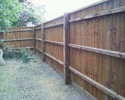 Closeboard With Capping Rail Jarrett Fencing