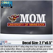 Mom University Of Minnesota Decal University Of Minnesota Bookstores