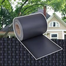 Vidaxl Privacy Fence Weave Roll Pvc Dark Grey 70x0 19m Porch Blind Windbreak Amazon Co Uk Kitchen Home