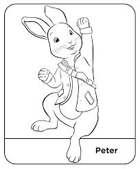 Coloring Pages Peter Rabbit Met Afbeeldingen Kleurplaten