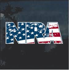 Nra American Flag Window Decal Sticker Custom Sticker Shop