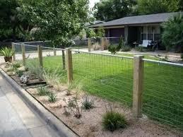 Image Result For Hog Wire Fence Designs For Sloped Yard Backyard Fences House Fence Design Fence Design