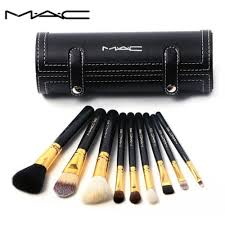 mac 9pcs makeup brush set chinagoltd