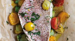 Parchment-Roasted Red Snapper with ...