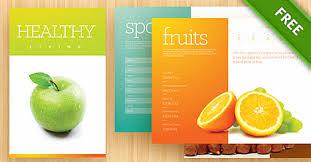 brochure template psd 2 free psd files