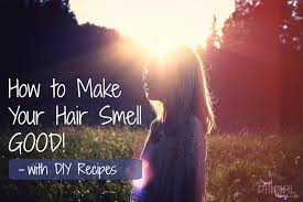 how to make your hair smell good diy