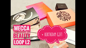 mecca beauty loop level 2 birthday