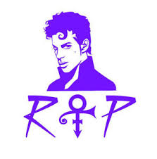 Free Buy 1 Get 1 Purple Rain Decal Prince Rogers Nelson