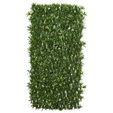 Nearly Natural Indoor Outdoor 39 In Podocarpus Expandable Fence Uv Resistant Waterproof 4235 The Home Depot