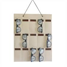 sunglasses organizer storage hanging