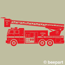 Fire Truck Wall Decal Fire Truck Art Custom Fire Truck Etsy Wall Decals Wall Decal Sticker Vinyl Wall Decals