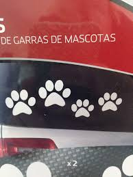 Amazon Com Drive Auto Products Adorable Dog Paw Car Decal Stickers Set Of 4 Automotive