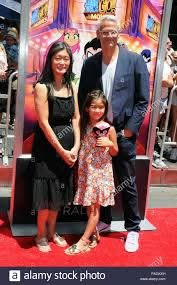HOLLYWOOD, CA - JULY 22: Producer Sam Register and family attend Warner  Bros. Pictures' World Premiere of 'Teen Titans Go! At The Movies' on July  22, 2018 at TCL Chinese Theatre in