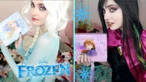 disney s frozen elsa and anna makeup