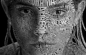 wallpaper typography face letter