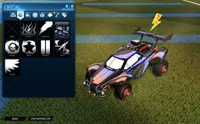 Epic Clean Decal For All Cars Rocket League Mods