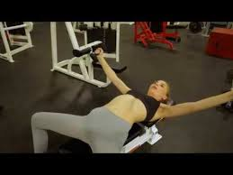 Hot Fitness Girl Ava Parker working out at gym - YouTube
