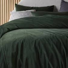 koo luxe velvet quilt cover set by