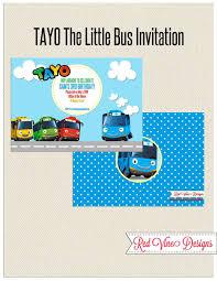 Tayo Invitacion 2 Invitaciones Correo Basura Imprimir Sobres
