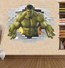 Top 10 3d Sticker With Hulk List And Get Free Shipping A565