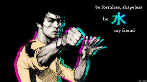 i made a 1600x900 bruce lee wallpaper