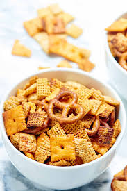 slow cooker chex mix recipe w ranch