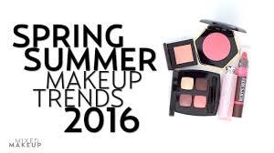 makeup trends for spring summer 2016