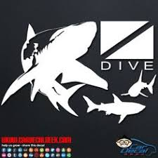 20 Scuba Diving Decals Stickers Ideas Decals Decals Stickers Car Decals Stickers