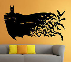 Batman Wall Vinyl Decal The Dark Knight Comics Superhero Atr Home Decor 13b2j Ebay