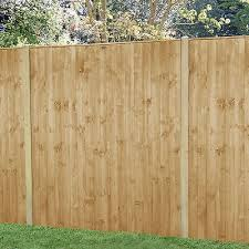 Forest 6 X 6 Pressure Treated Featheredge Fence Panel 1 83m X 1 85m Shedstore
