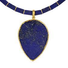 giant lapis lazuli pendant pruden and