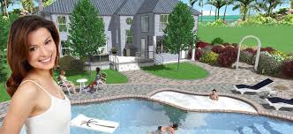 design with 3d landscape design