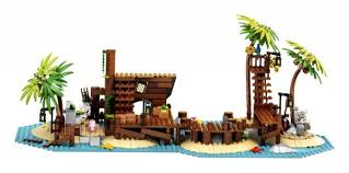 LEGO Ideas Pirates of Barracuda Bay set officially unveiled