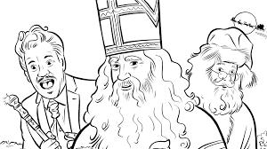 Kleurplaten De Club Van Sinterklaas