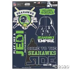 Nfl Seattle Seahawks Star Wars Decals Oriental Trading