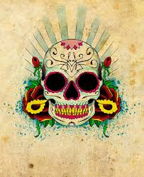 mexican skull wallpapers top free