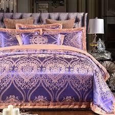 luxury purple and gold ethnic pattern