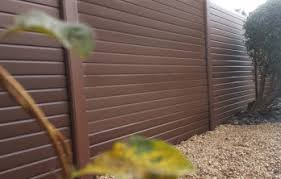 Plastic Fencing Liniar Fencing Upvc Fence Panels